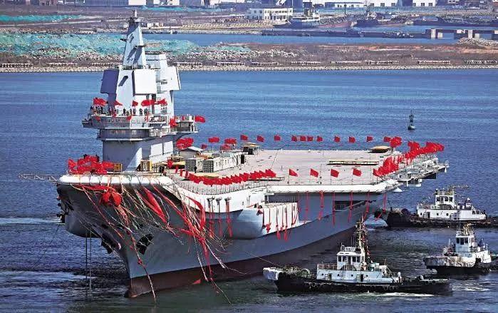 """首艘国产航母叫""""山东"""",舷号17!"""