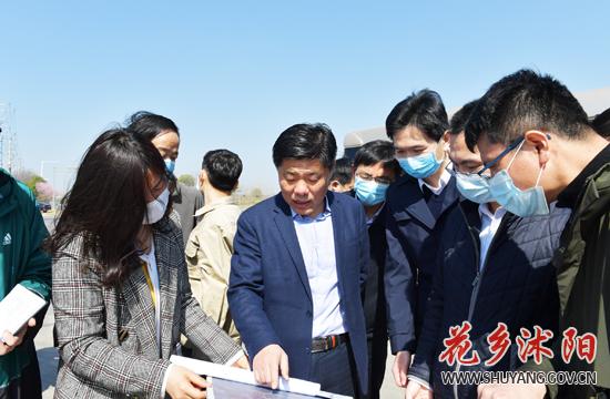彭伟现场调研供电工程项目选址工作