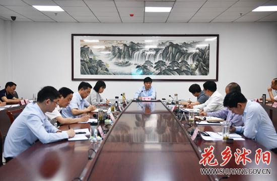 """彭伟主持召开县长办公会议时强调 落实中央""""六保""""要求 推动全县高质量发展"""