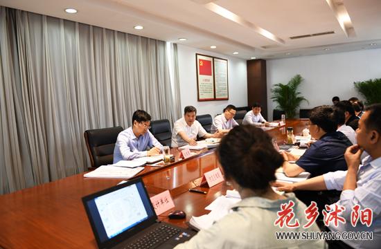 卞建军主持召开项目规划设计方案会审会