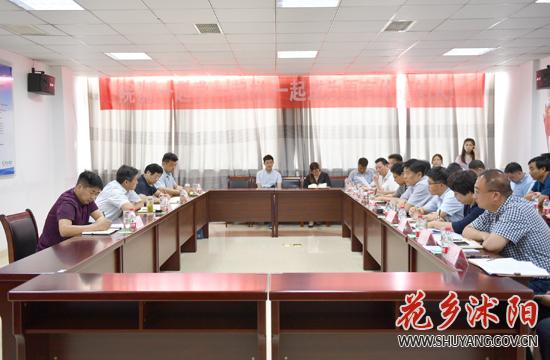省安全生产第十三督导组来沭阳县调研安全生产工作