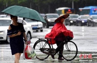 """台风""""米克拉""""登陆 福建发布红色预警"""