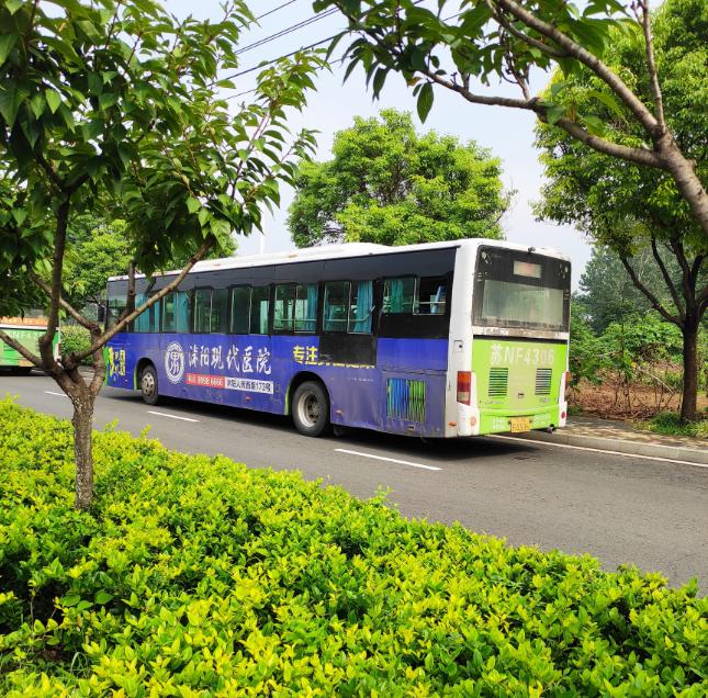 沭阳城市公交车102路终点站改地点了