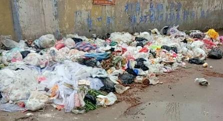龙庙龙腾家园小区垃圾怎么就没人处理呢