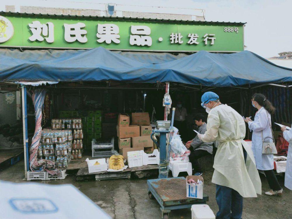 沭阳菜市场、学校食堂新冠病毒检测结果公布!