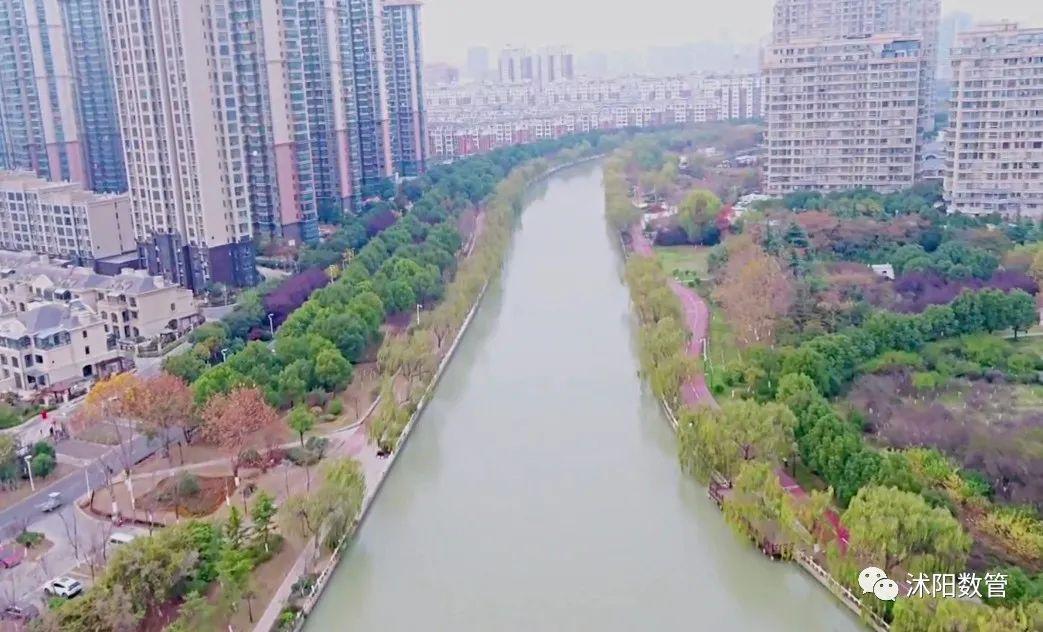 太美了!无人机视角下的沭阳城市风貌!