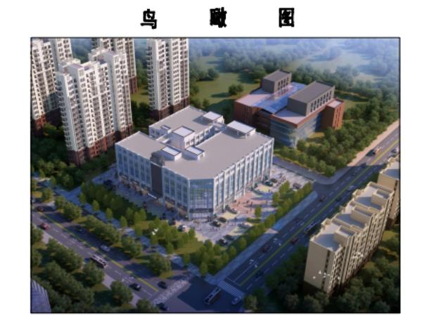 效果图曝光!沭阳南湖将建一商务中心,占地12.22亩,规划建设1栋6层建筑