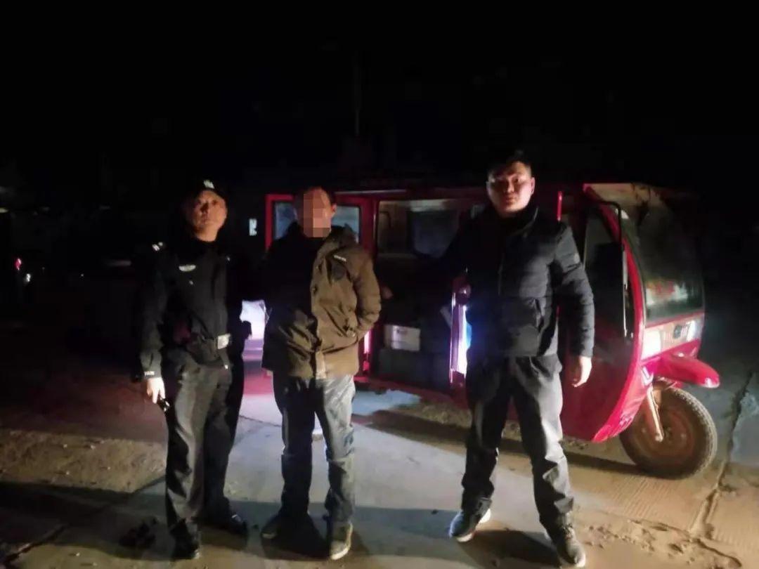运赃途中被抓 沭阳警方破获系列盗窃电瓶案件!