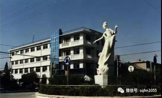老照片分享—沭阳老城区的三大雕塑