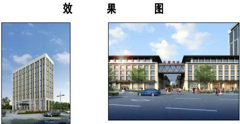 沭阳城区新建一个大型市场,还有16层电商办公楼